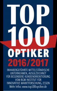 TOP 100 Optiker 2016